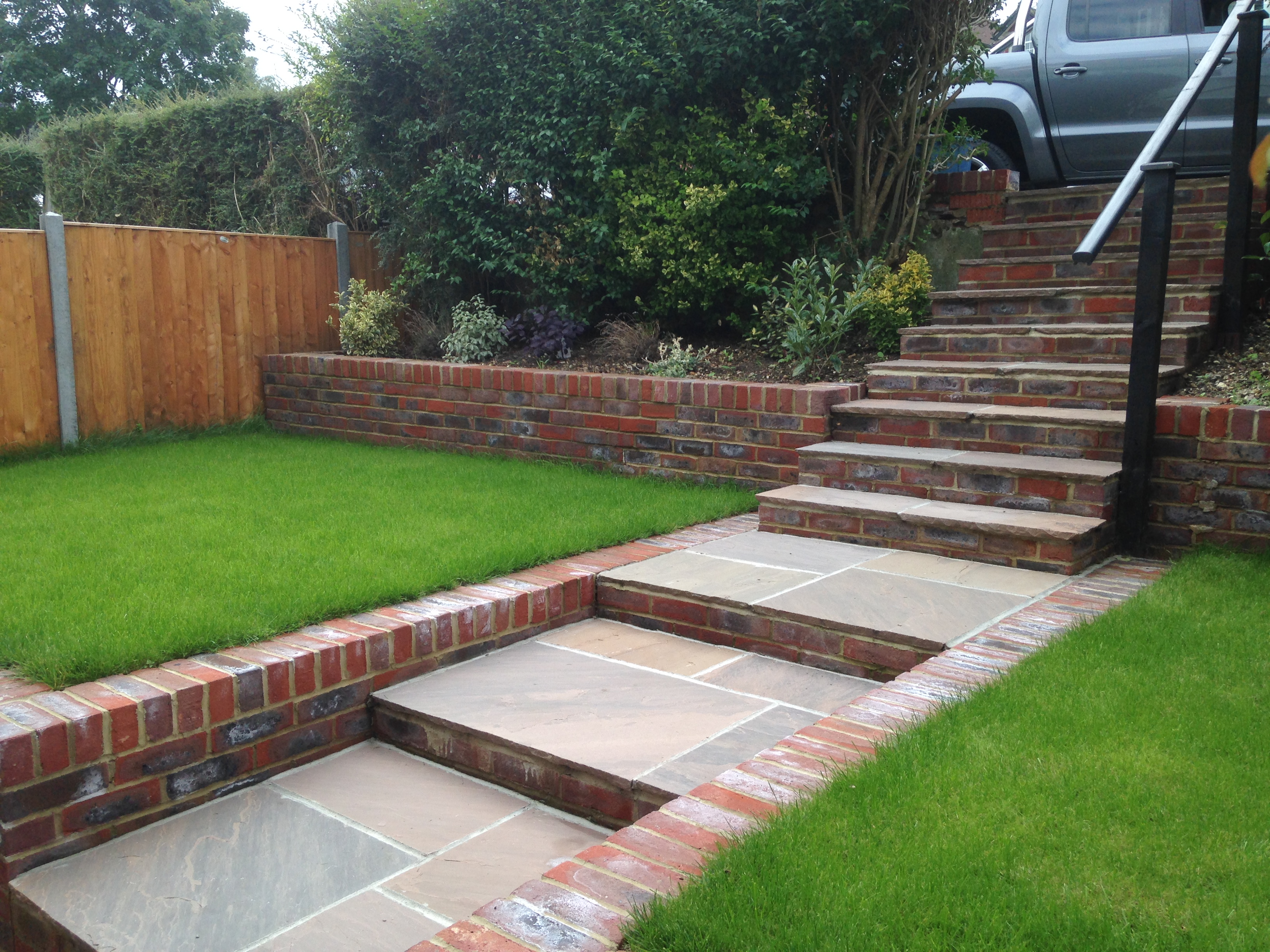 Brick Wall Paving Fraser Landscapes
