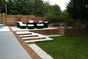 Fraser Landscapes - Garden Wall Services - Surrey