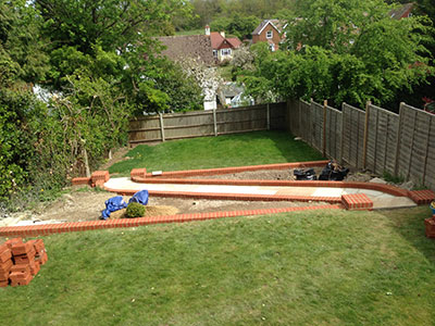 Fraser Landscapes - Brickwork Services - Surrey