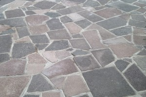 Fraser Landscapes - Crazy Paved Driveway & Garden Wall - Sutton
