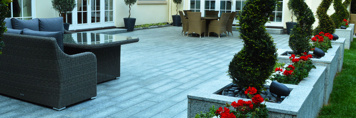 Fraser Landscapes – Granite Patio – Surrey